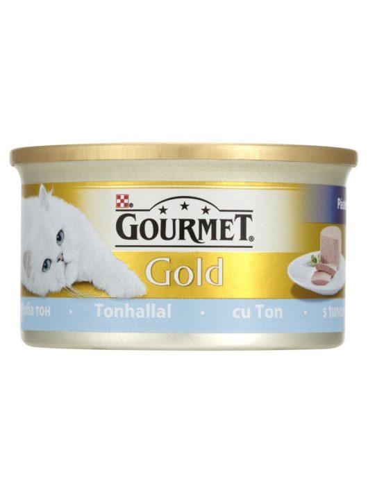 Gourmet-Gold-Pastetom-Tonhal-85G-Eledel-Macskanak