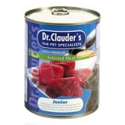 Dr-Clauders-Kutya-Konzerv-Selected-Meat-Junior-400G