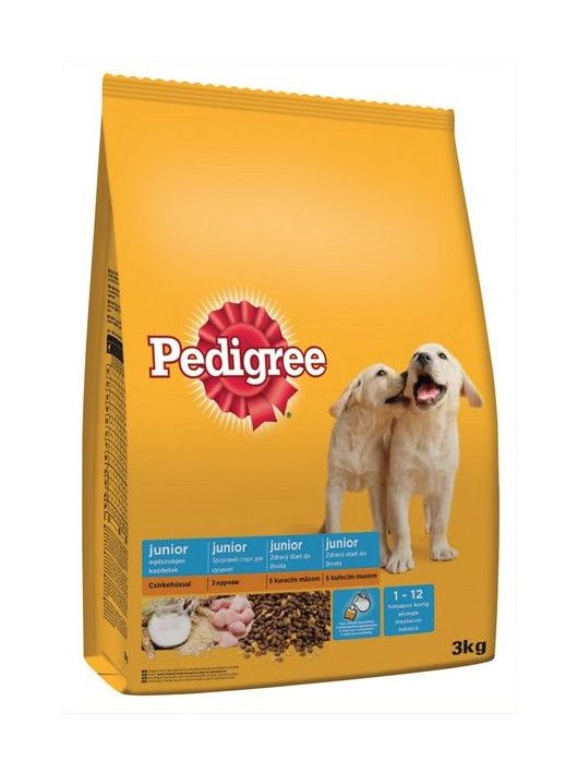 Pedigree-Szaraz-Junior-Baromfi-3kg