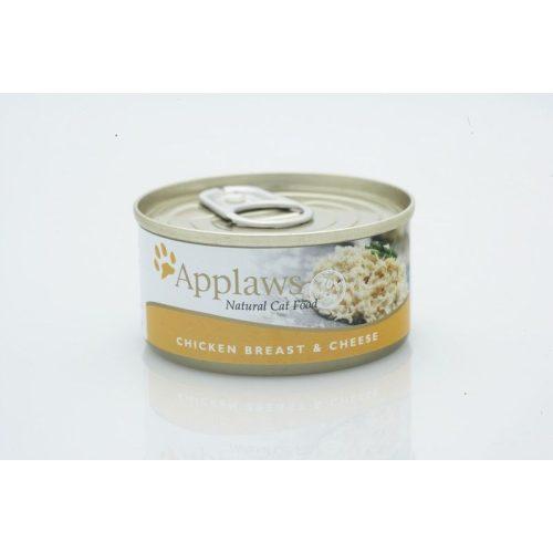Applaws-Cat-Konzerv-Macskanak-Csirkemell-es-Sajt-70G