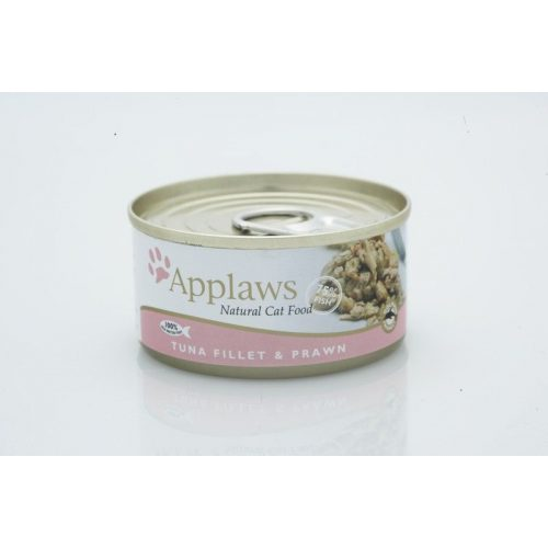 Applaws-Cat-Konzerv-Macskanak-Tonhal-Garnelarak-70G