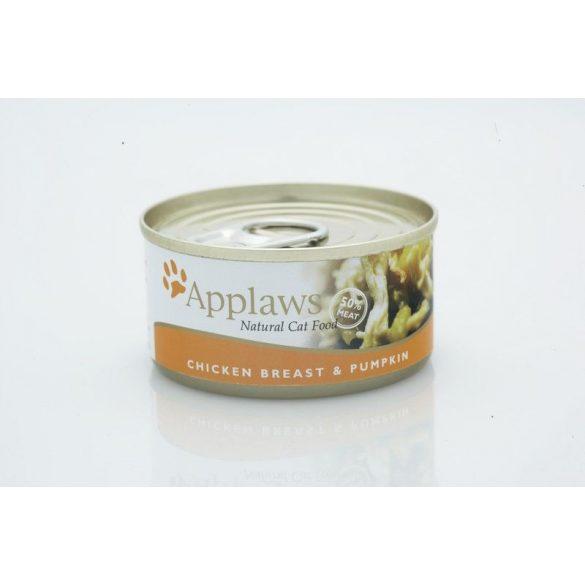 Applaws-Cat-Konzerv-Macskanak-Csirke-Sutotok-70G