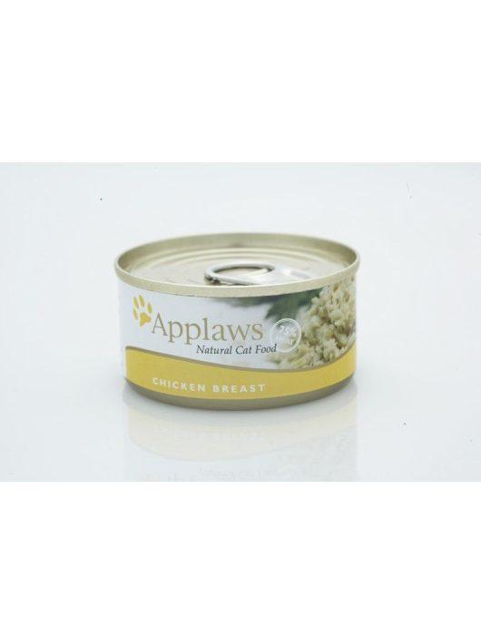 Applaws-Cat-Konzerv-Macskanak-Csirke-156G
