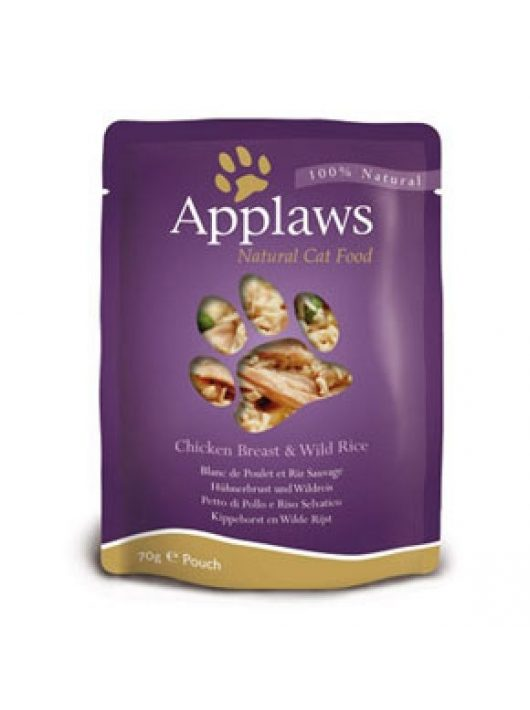 Applaws-Cat-Alutasak-Csirke-es-Vadrizs-70G-Eledel-Macskanak