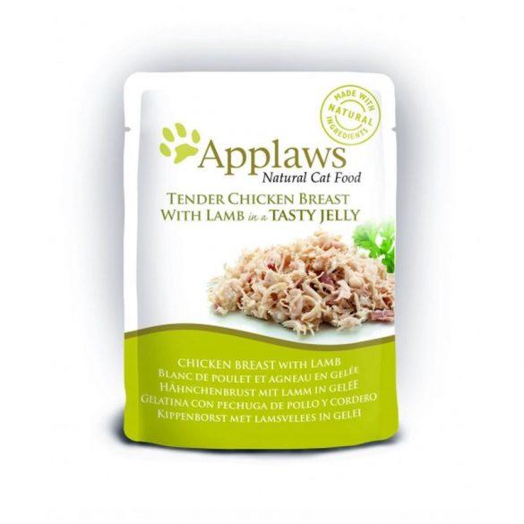 Applaws-Cat-Tasakos-Csirkehus-Baranyhussal-Zseleben-70G-Eledel-Macskanak