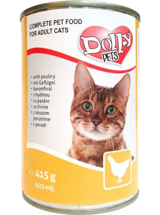Dolly-Cat-Konzerv-Macskanak-Baromfi-415G