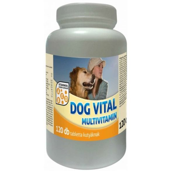 Dog-Vital-Multivitamin-Tabletta-120db