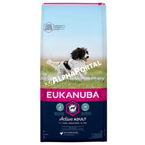 Eukanuba Adult Medium 15Kg Száraz Kutyatáp
