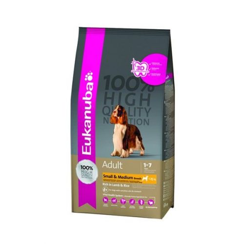 Eukanuba-Adult-Lamb-Rice-Small-Medium-1Kg-Szaraz-Kutyatap