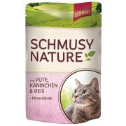 Schmusy-Nature-Macskaeledel-Alutasakos-Pulyka-Nyul-100G