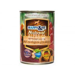 Happy-Fit-Natural-Wild-Lamm-mit-Kartoffeln-Distelol-400g