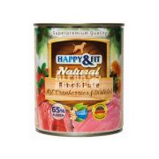 Happy-Fit-Natural-Rind-Pute-mit-Cranberries-Distelol-800g