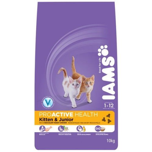Iams-Cat-Kitten-Junior-Chicken-10Kg-macskatap