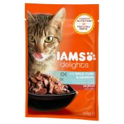 Iams-Cat-Delights-Tonhal-es-Hering-Aszpikban-85gr