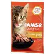Iams-Cat-Delights-Sult-Pulykahus-es-Kacsahus-Aszpikban-85gr