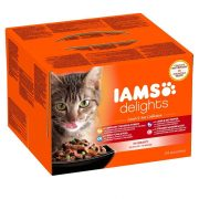 Iams-Cat-Delights-Land-sea-Multipack-Szoszban-24x85gr