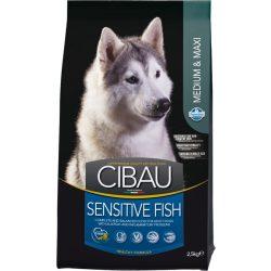 Cibau-Sensitive-Fish-Medium-Maxi-2_5Kg-Szaraz-Kutyatap