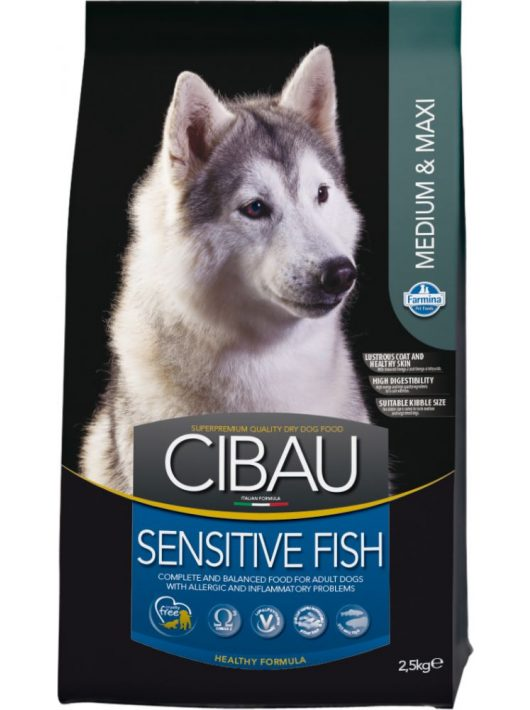 Cibau-Sensitive-Fish-Medium-Maxi-2_5Kg-Szaraz-Kutyatap