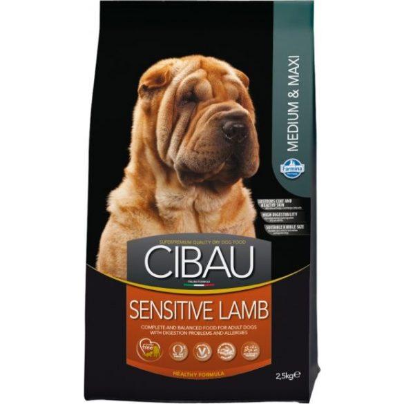 Cibau-Sensitive-Lamb-Medium-Maxi-2_5Kg-Szaraz-Kutyatap