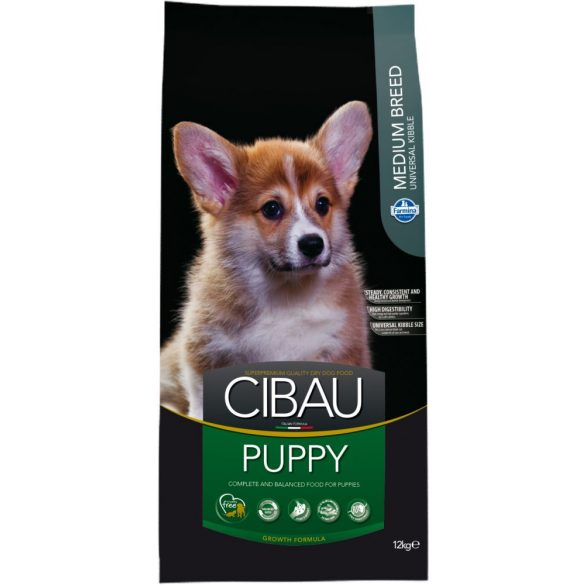 Cibau-Puppy-Medium-12Kg-Szaraz-Kutyatap