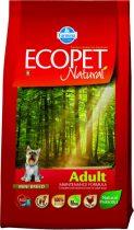 Ecopet Natural Adult Mini 14Kg Száraz Kutyatáp