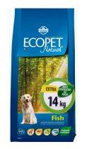 Ecopet Natural Fish Medium 14Kg Száraz Kutyatáp