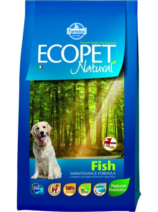 Ecopet-Natural-Fish-Mini-14Kg-Szaraz-Kutyatap
