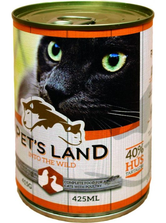 Pet-s-Land-Cat-Konzerv-Baromfi-415g