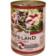 Pet-s-Land-Cat-Junior-Konzerv-Marhamaj-Baranyhus-almaval-415g