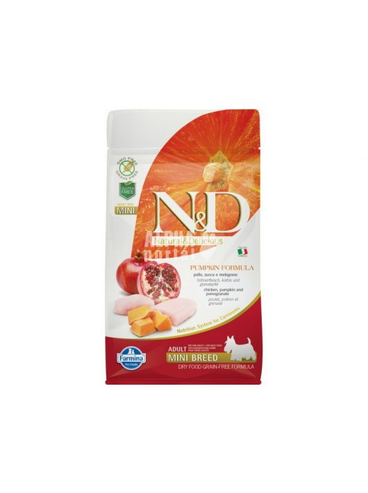 N-D-Dog-Grain-Free-csirke-granatalma-sutotokkel-adult-mini-800gr