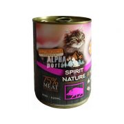 Spirit-of-Nature-Cat-konzerv-Vaddisznohussal-415gr