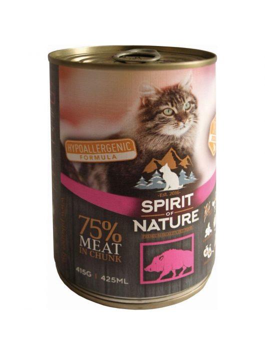 Spirit-of-Nature-Cat-konzerv-Vaddisznohussal-415gr