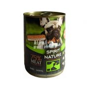 Spirit-of-Nature-Dog-konzerv-Baranyhussal-es-nyulhussal-415gr