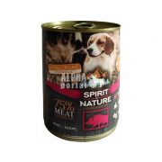 Spirit-of-Nature-Dog-konzerv-Vaddisznohussal-415gr