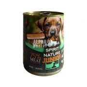 Spirit-of-Nature-Dog-konzerv-Junior-Baranyhussal-es-nyulhussal-415gr